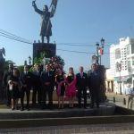 Celebran el 207 aniversario de la Independencia de México con acto cívico y desfile en Cuerámaro