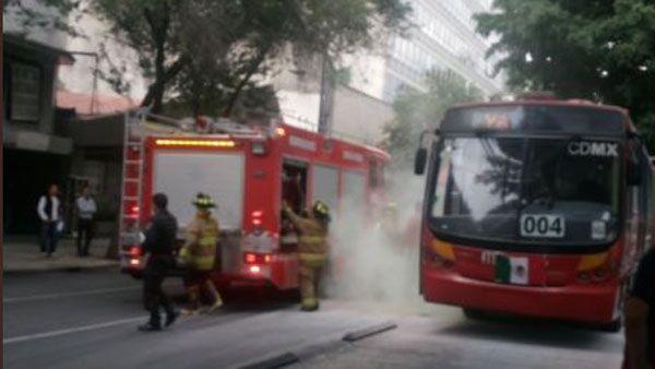 Photo of Se registra connato de incendio en el metro