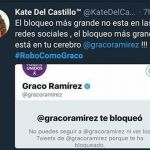 Kate del Castillo arremete contra gobernador de Morelos