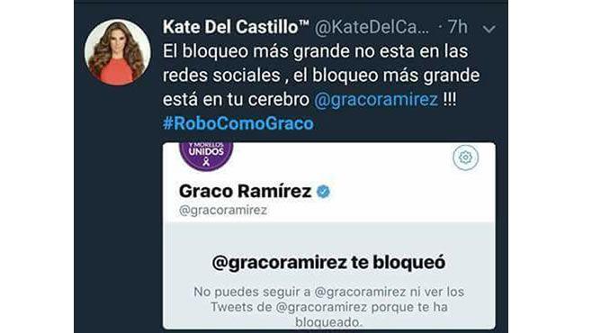Photo of Kate del Castillo arremete contra gobernador de Morelos