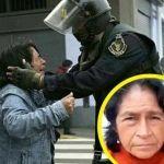 """""""Dispárame de una vez"""", le dijo la maestra al policía que aparecen en la foto viral"""