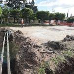 Inician trabajos en parques vecinales De villas el dorado y villa esmeralda