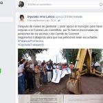 Diputada Irma Leticia, le pide favores al alcalde de Irapuato y luego lo exhibe