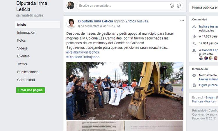 Photo of Diputada Irma Leticia, le pide favores al alcalde de Irapuato y luego lo exhibe