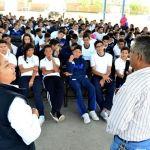 Celebran la Semana de la Prevención entre Estudiantes Secundaria y Preparatoria