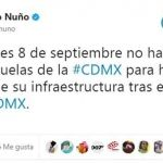 Por sismo suspenden clases en CDMX, Chiapas, Oaxaca y Tabasco