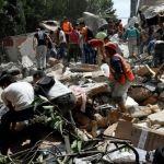 Suman 293 muertos por el sismo