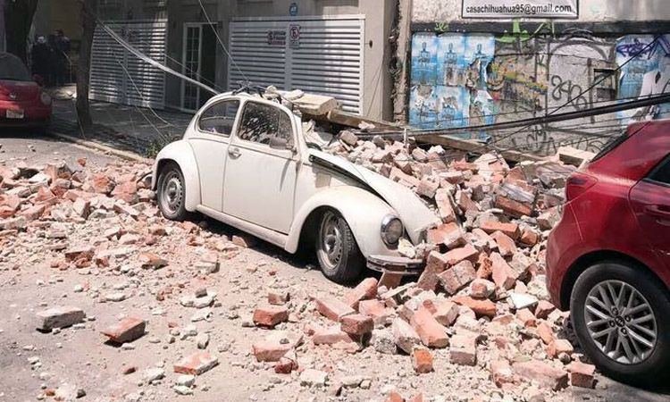 Photo of Hasta el momento reportan la muerte de 164 personas tras temblores; hay decenas de desaparecidos