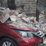 Reportan derrumbes en la CDMX tras sismo de 7.1 grados