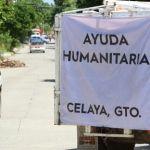 Llegan 13 toneladas de ayuda celayense a Oaxaca