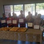 Clausuran curso de panadería en el Centro Impulso