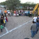 Inician trabajos de ampliación en la red de agua potable en el Cerrito de Agua Caliente