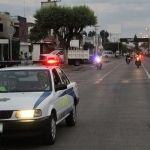 Implementan dispositivo vial y de seguridad para reguardar el paso de peregrinos