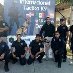 Unidad Canina de policía municipal participa en Congreso Internacional K-9