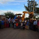 Dan arranque a  la 2 etapa de ampliación de la red de agua potable en la comunidad Galera de la Grulla