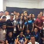 Premian a ganadores de la Liga Inter Universidades de futbol soccer