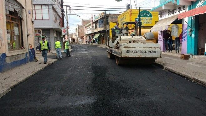 Photo of Realizan mantenimiento mayor a calles de la zona centro
