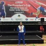 Atleta UG consigue el 3.er lugar en competencia internacional de Sambo