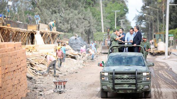 Photo of Brigada militar de Irapuatoterminada en un 50%