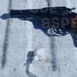 Detienen en Cuerámaro a dos personas en posesión de 21 dosis de cristal y un arma de fuego