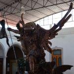 """Rescatan estatua de la """"Gloriosa libertad"""" de Pénjamo"""