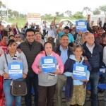 Entregan Cisternas a familias de 14 comunidades de la Sierra de Pénjamo