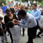 Inicio a la 3ra semana nacional de salud en Huanímaro