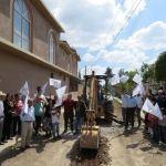 Arranca obra en la comunidad de la Granja en Huanímaro