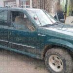 Aseguran en Irapuato a tres personas con una camioneta robada