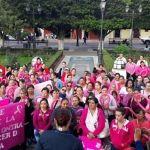 Cientos de mujeres se suman por la sensibilización y  prevención
