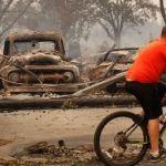 Ya van 13 muertos por incendios en el norte de California