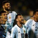 """Con """"Hat trick"""" de Messi Argentina clasifica a Rusia 2018"""