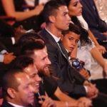 La mirada del hijo de Cristiano a Messi que se hizo viral