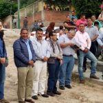 Arrancan 2da. Etapa de  pavimentación de calle Morelos
