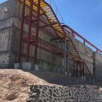 Avanza construcción de la planta de tratamiento de aguas residuales en Pénjamo