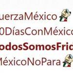 #TodosSomosFrida, Twitter lanzó 'hashtags' para ayudar a víctimas del 'S19'
