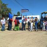 Arranca pavimentación en la calle  Nuevo León  en la colonia Cieneguilla