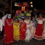 Majestuoso desfile de catrinas disfrutaron los neopoblanos