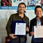 Firma convenio de colaboración Guanajoven con Talent Network por 500 becas.