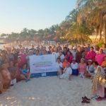 Lleva DIF Estatal a Personas Adultas Mayores a Campamento en Cancún