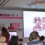 Isabel Ortiz presenta 2 informe de actividades