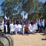 Entregan nueva infraestructura de deportiva en Abasolo