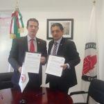 Firman convenio de colaboración por los derechos humanos