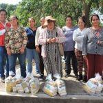 Cumple DIF municipal con entrega de apoyos alimenticios