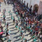 Desfilan por el 107 aniversario de la Revolución Mexicana en Huanímaro