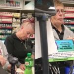 Cajeras drogadas atienden en tienda de EU (VIDEO)