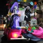 Familias penjamenses disfrutan del tradicional Desfile de Catrinas
