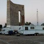Circo se instala y causa daños en explanada histórica, de ex hacienda del Padre de la Patria
