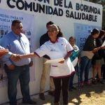 """SSG certificó la comunidad La Borunda como """"Promotora de la salud"""""""