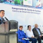 DIF Estatal Entrega Cancha de Cachibol a San Luis de la Paz, Suman 15 en el Estado